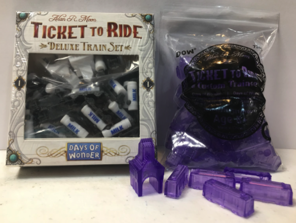 Ticket To Ride prize pack